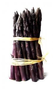 Les bienfaits de l'asperge violette