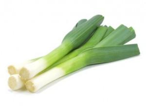 Le légume Poireau