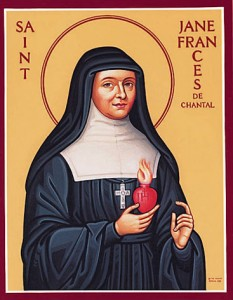 Sainte Jeanne Françoise de Chantal