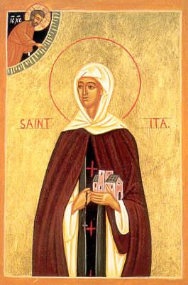 13 avril : Sainte Ida (Ide) de Boulogne ou de Louvain Sainte-ida