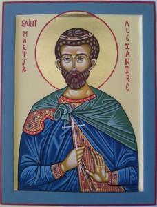 Fête du 22 Avril : Saint Alexandre