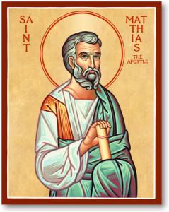 Fête du 14 Mai : Saint Matthias