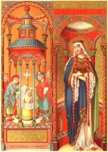 Fête du 04 Juin : sainte Clotilde