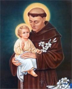 Fête du 13 Juin : saint Antoine de Padoue