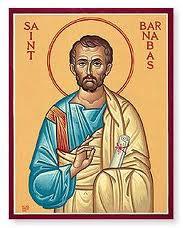 Fête du 11 Juin : saint Barnabé
