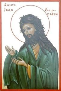 Fête du 24 Juin : saint Jean Baptiste