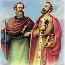Fête du 29 Juin : saint Pierre Saint Paul