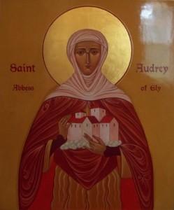 Fête du 23 Juin : sainte Audrey