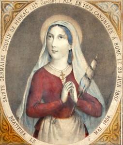 Fête du 15 Juin : sainte Germaine