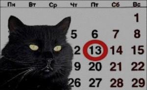 Superstitions - croyances françaises: significations du vendredi 13