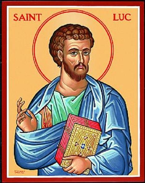 Saint Lucas Calendrier.Fete Du 18 Octobre Saint Luc