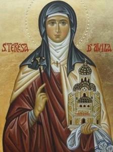 Fête du 15 octobre : sainte Thérèse d'Avila